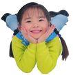 天真儿童0091,天真儿童,儿童,趴着 姿势 小美女