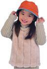 天真儿童0098,天真儿童,儿童,戴着帽子 手扶帽沿 冬装