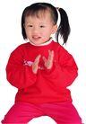 幻想儿童0098,幻想儿童,儿童,小辫子 红色衣服 拍手