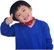 幻想儿童0104,幻想儿童,儿童,歪着脑袋 调皮孩子 竖着大拇指