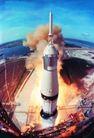 宇宙探索0194,宇宙探索,科技,烟雾