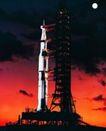 宇宙探索0200,宇宙探索,科技,圆月