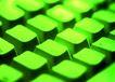 鼠标键盘0117,鼠标键盘,科技,绿色调
