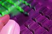 鼠标键盘0155,鼠标键盘,科技,紫色按键