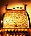 电子商务0152,电子商务,科技,金色物件