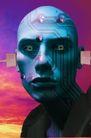 数码生活0161,数码生活,科技,蓝色头部