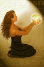 数码生活0171,数码生活,科技,美女 水晶球