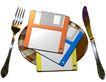 世界0021,世界,科技,刀叉 软盘