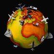 地球仪百科0164,地球仪百科,科技,飞机车辆模型