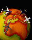 地球仪百科0166,地球仪百科,科技,红色板块
