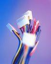 科技发达0032,科技发达,科技,线缆 接头 红色