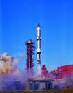科技发达0058,科技发达,科技,发射火箭 浓烟