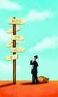 金融符号0048,金融符号,科技,指示路牌
