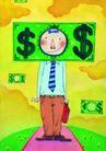 金融符号0096,金融符号,科技,钞 面部 货币符号