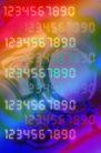高科技背景0046,高科技背景,科技,彩色数字