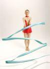 艺术体操0037,艺术体操,运动,彩带 裙子 舞动