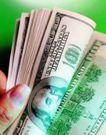 金融货币0146,金融货币,金融,指甲 手中的钞票