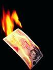 金融商业0042,金融商业,金融,燃烧的钞票