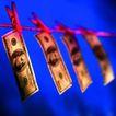 金融商业0058,金融商业,金融,夹着钞票