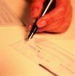 金融商业0075,金融商业,金融,签字 拿着笔 支票