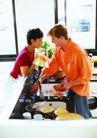 生活百态0015,生活百态,生活百科,洗碗 夫妻在厨房