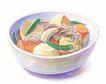 美食插图0099,美食插图,生活百科,豆子 美食 饭碗