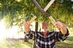 花园生活0011,花园生活,生活百科,大剪刀 大胡子老人