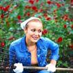 花园生活0012,花园生活,生活百科,农妇 劳作 牛仔衣