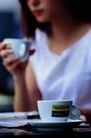 茶与咖啡0097,茶与咖啡,生活百科,杯子 瓷器 端着茶杯