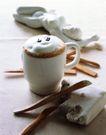 茶与咖啡0103,茶与咖啡,生活百科,白色泡沫 木勺 静物