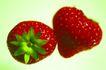 食物背景0012,食物背景,生活百科,草莓 鲜草莓