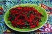 食物背景0060,食物背景,生活百科,一盘辣椒