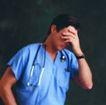 医学人员0015,医学人员,医学医药,捂住脸 感到遗憾
