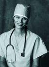 医学人员0027,医学人员,医学医药,一个女医师
