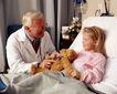 国外医疗0048,国外医疗,医学医药,小病人 慈祥的老医生
