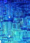 高科技治疗0009,高科技治疗,医学医药,精密电路板 特写镜头