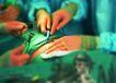 高科技治疗0014,高科技治疗,医学医药,医生的手 拿着手术刀