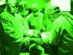 高科技治疗0018,高科技治疗,医学医药,绿色手术室 紧张手术中