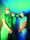 高科技治疗0030,高科技治疗,医学医药,都戴着口罩