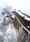 万里长城0041,万里长城,中华图片,雪后长城