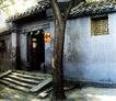 北京胡同0115,北京胡同,中华图片,老树 阶梯 北京胡同