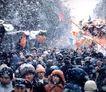 北京胡同0119,北京胡同,中华图片,拥挤人潮 过年的气氛
