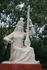 新疆经济篇0091,新疆经济篇,中华图片,石像 雕像 演奏