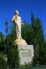 新疆经济篇0098,新疆经济篇,中华图片,石像 站着 青松