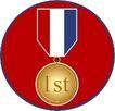 奖牌奖杯0033,奖牌奖杯,综合,奖牌 一等奖 金牌