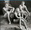 个性一族0178,个性一族,广告创意,渡假 坐野外