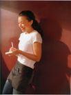 个性一族0189,个性一族,广告创意,年轻女孩 开心笑脸