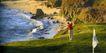 体育运动0094,体育运动,广告创意,野外 高尔夫球场 打球