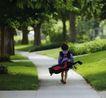 体育运动0101,体育运动,广告创意,小孩 古树 环保
