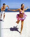 体育运动0103,体育运动,广告创意,沙滩上 男女 奔跑